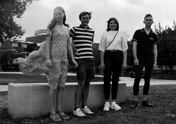 Studerende fra Aarhus Ingeniørhøjskole, praktikanter og studentermedhjælpere, der arbejder hos Ekolab, en rådgivende ingeniør virksomhed