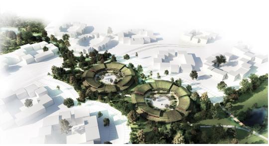 Køge Nord, cirkulært bygger, cirkulære boliger